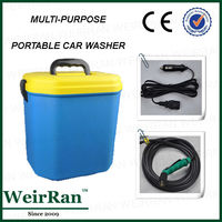 (82368) Electro-operated 12v portable mini eco-friendly car pressure washer economic car cleaner