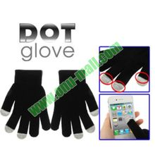Christmas Gift Dot Glove of Touch Sceen for iPhone 5/5S/4/4S, for Blactberry/HTC and Other Smart Phones