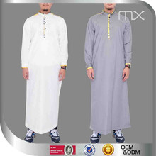 Jalabiya men qatar men thobe kurta collar style muslim men dress baju kurung muslimah in malaysia mens clothing