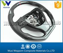 3K Twill Glossy Carbon Fiber Car Steering Wheel