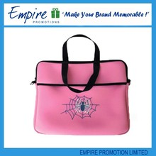 Pink flower painting portable popular girl neoprene laptop sleeve wholesales