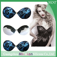 Transparent black lace bra,girls hot sexy bra invisible