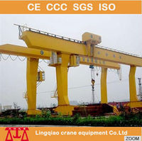 2015 Outdoor China Manufacturer Gantry Crane Design Calculations For High Railway