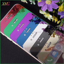 High quality for iphone 6 mirror tempered glass screen protector, tempered glass screen protector for iphone 6