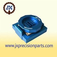 Flow gate switch Blue hard anodic high-precision aluminum alloy precision parts
