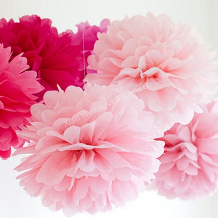 cheap tissue paper pom poms