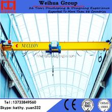 Best quality HD model 1 ton single girder euro bridge crane eot