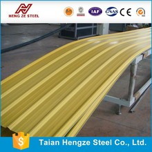 competitive price advantages Metal Roof, Metal Roofing, Metal Roofing Sheet Zinc 70g width 600-1250mm From HZ Factory