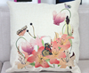 2015 China factory supplies alibaba selling well 100% cotton fashion flower high quality Printing Outdoor Cushion