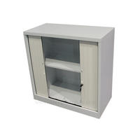 Bedroom Furniture Shutter Door Metal Small Cabinet JF-T003