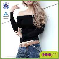Excellent qulity latest fashion knitted strapless women's clothing manufacturer