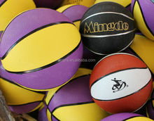 Customized new coming picture printed rubber inner basketball