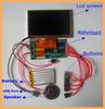 Customized Mini Video Greeting Card Module LCD Brochure Module MP4 Video Module in Box Supply