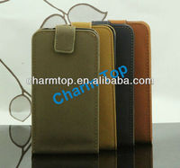 Leather Flip Case For Samsung Galaxy S4 i9500