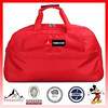 Hot Trend Red Polyester Gym Duffle Bag Travel Luggage Bag Sport Bag