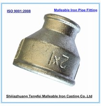 Pipe reducing socket , Galvanized malleable iron plumbing fitting