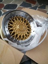 gold color CLASSIC STYLE alloy wheels rims