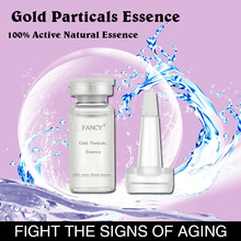 Glossy Ganoderma Extract Brightening Whitening Facial Essence With Gold, Pearl, VE