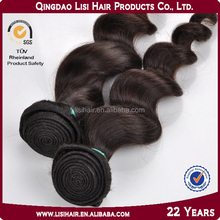 hot selling2014 alibaba China stock natural color unprocessed wholesale virgin loose wave hair weave