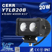 YT Factory Price Newest design snowmobile snow scooter led light bar, diesel snowmobile led light bar. snowmobile led light bar