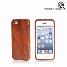Professional universal Natural wood new universal wood+pc mobile phone case for iphone5