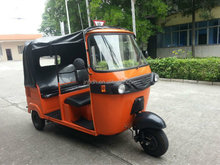 2015 New Design Gasoline Three Wheele motorcycle Taxi/bajaj three wheeler auto rickshaw/bajaj passenger three wheel scooter