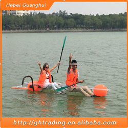 wholesale high transparency 2 person net weight 23kg jet kayak