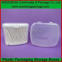 Popularity explosion model pp cotton swab box, cosmetic cotton swab box