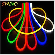 Ac110 / 220 V llevó la cuerda de la raya luz colorida de la lámpara led neon flex luces de tubo para la decoración navideño