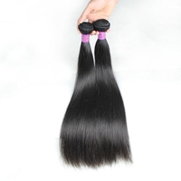 "Wholesale 100% virgin human 22"" indian remy straight hair 3pcs/lot"