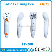 OEM&ODM kids toy smart reading pen for point reading pen recorder MP3