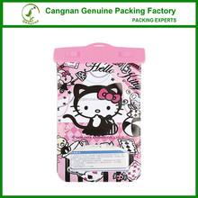 Hello kitty mobile phone PVC waterproof bag