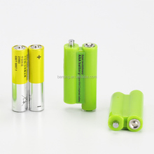 2015 New Design 3V USB battery for replace two #7 AAA dry battery, micro usb charging battery