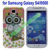 Cartoon Spongebob Case for Samsung galaxy s4 TPU with Unique Owl Design