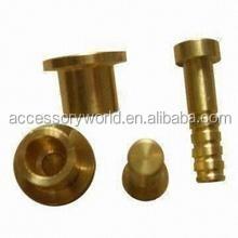 Custom High Precision Aluminum And Brass CNC Turning Service
