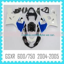 Fairing Body Kit Quality ABS motorcycle Fairing kit for SUZUKI GSXR600 GSXR750 2004 2005