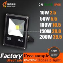 2015 New design best price latest craze IP65 High Brightness Epistar / Bridgelux 10W 20W 30W 50W Outdoor COB Led Floodlight 30W