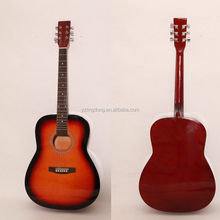 Good quality latest all solid wood acoustic guitar