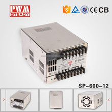hot sale PFC function 600w switching power supply 220v 12v 50a