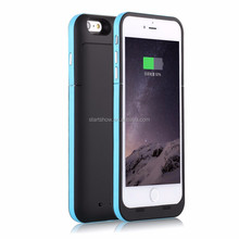 High capacity 6800mAh External Power Bank Backup Battery Charger Case For iPhone 6 Plus