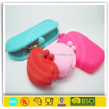 2015 Hot selling Eco-Friendly silicone gift /silicone coin purse