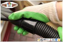 FTSAFETY 10Gauge economy cotton shell palm latex coated gloves