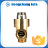 manufacturing high temperature resistant copper material pipe fitting thread hydraulic rotary swivel union joint for pipe