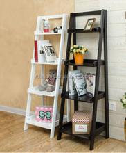 Franch Luxury MDF Wooden 4 floor book shelves