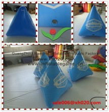 Floating company inflatable buoy