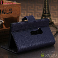 High good quality Litchi shape PU leather case for Nokia N920