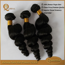 Grade 6a virgin wholesale full cuticle wet and wavy Competitive price curly brazilian hair brazilian loose curl