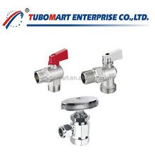 China Suppliers brass angle valve price