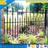 Black Powder Coated Garrison Garden Decorate Fence