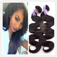 Unprocessed Remy Body Wave Long Hair 100% Indian Hair Extension